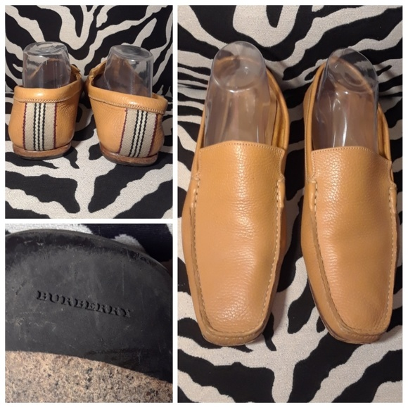 23d35d84f75 Burberry Other - AUTHENTIC MEN S BURBERRY LEATHER SLIP ON LOAFERS